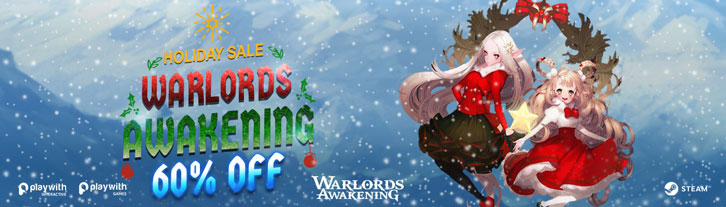 Warlords Awakening: 60% Off Starting From Today!