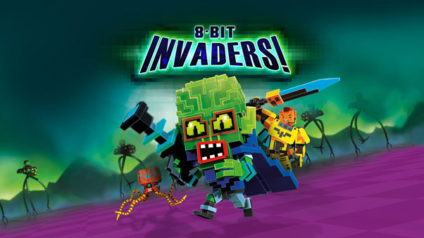 Sci-fi RTS Game '8-Bit Invaders!' Seizes Earthly Stores in February 2019
