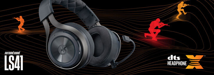 LucidSound Ships LS41 Wireless Surround Gaming Headset