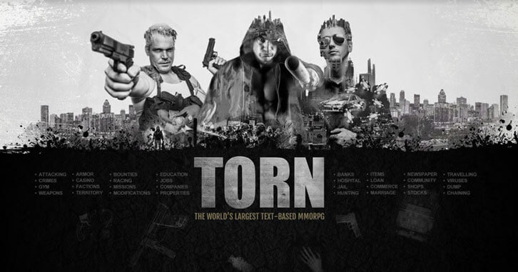 World's Largest Text-based MMORPG TORN Launches on iOS