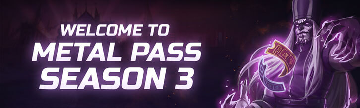 Convert to the Sect of Metal in Heavy Metal Machines with Metal Pass Season Three