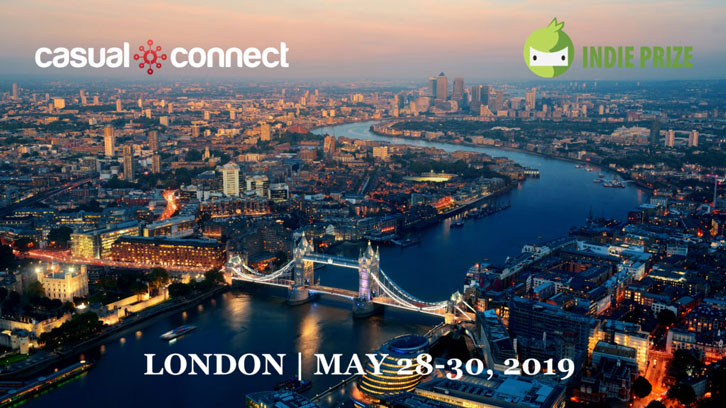 Casual Connect Europe 2019 Coming Back to London This May