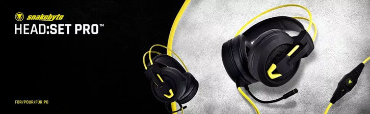 Snakebyte Ships HEAD:SET PRO PC, A New Luxury Gaming Headset Without the Luxury Price