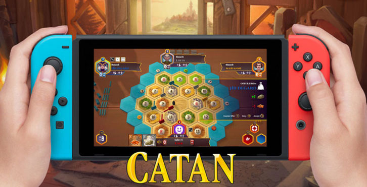 Asmodee Digital will release Catan on Nintendo Switch on June 20th 2019