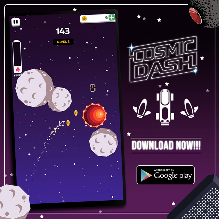 Dawn Dice Launches New Arcade Game, Cosmic Dash