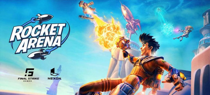 BOOM! Nexon and Final Strike Games Reveal New Title, Rocket Arena, Entering Closed Beta May 23rd