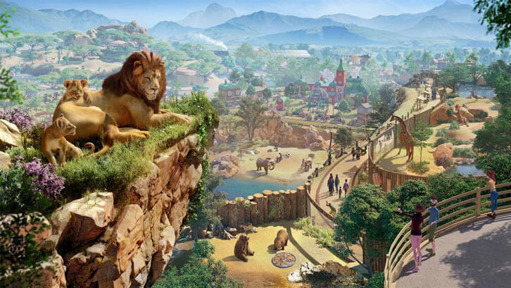 Frontier Reveals First Planet Zoo In-game Trailer and Announces 5 November Launch Date