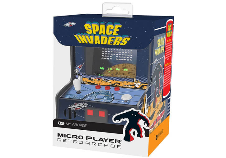 My Arcade Reveals Collectible SPACE INVADERS Micro Player