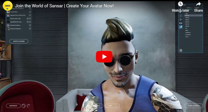 Join the World of Sansar - Create Your Avatar Today!