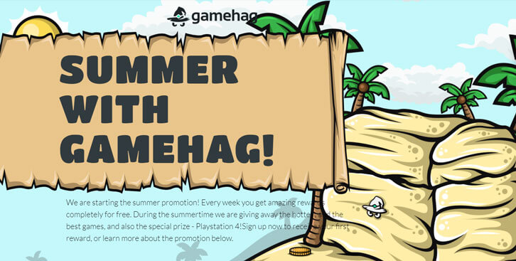 Spend the Summer with Gamehag!