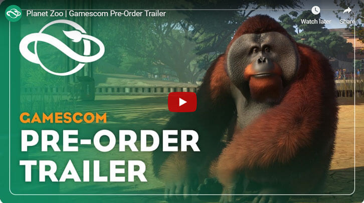 Frontier Announces Planet Zoo Beta Date in New Gameplay Trailer