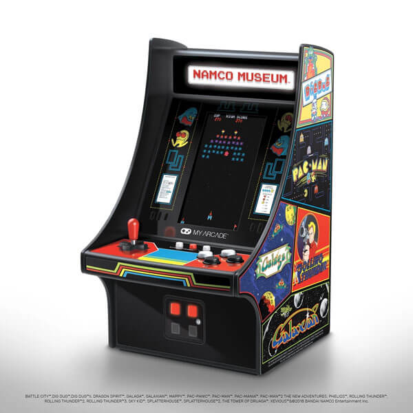 My Arcade Ships The NAMCO MUSEUM Mini Player, A Retro Juggernaut, Featuring 20 Arcade Classics