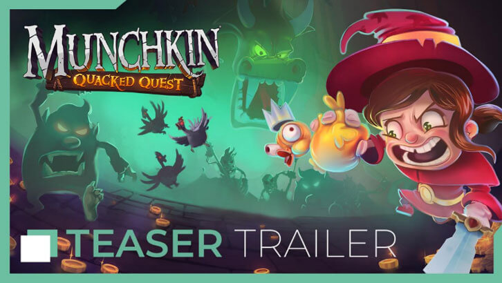Asmodee Digital bringing Munchkin: Quacked Quest to consoles and PC in Autumn 2019