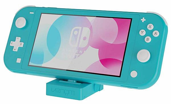 Venom Stands and Delivers with the Charging Stand for Nintendo Switch Lite