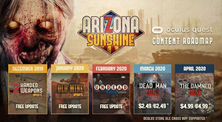 Arizona Sunshine Out Now For Oculus Quest with Cross-Buy DLC Confirmed