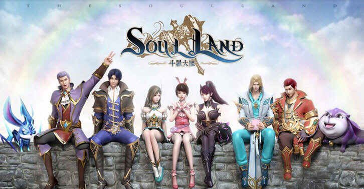 Popular Novel-Based RPG Mobile Game 'Soul Land' Released