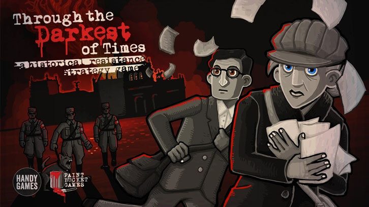Through the Darkest of Times will be released on Steam Today!