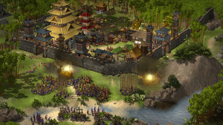 Stronghold Adds Historically Accurate Exploding Oxen to Your Siege Arsenal
