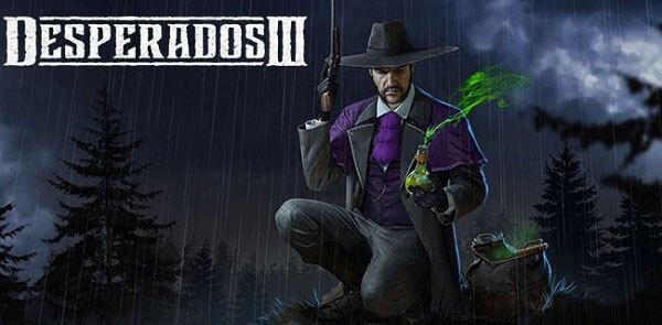 Legendary bounty hunter McCoy is back for Desperados III