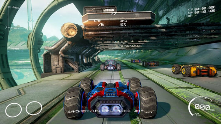 GRIP: Combat Racing Launches Surprise Virtual Reality Update for Windows PC