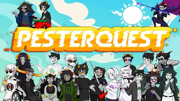 Pesterquest is complete with all episodes and epilogue now available