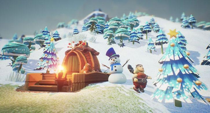 Christmas trees, snowmen and more in Valhalla Hills