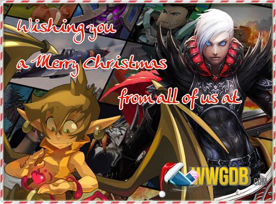 Merry Christmas and a Happy New Year from WWGDB