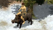 Wild Terra: Boar mount