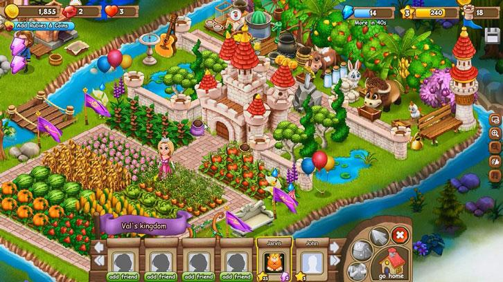 Royal Story on Virtual World Games 3D
