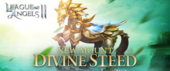 Divine Steed Gallops into League of Angels 2