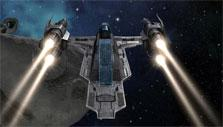 Explore space in Vendetta Online