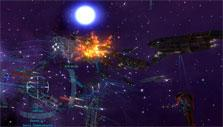 Epic space battles in Vendetta Online