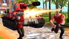 Blitz Brigade: You can drive tanks
