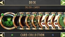 Your deck in Cabals: Magic & Battle Cards