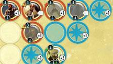 Cabals: Magic & Battle Cards: Card played