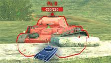 Sniper mode in World of Tanks: Blitz