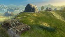 World of Tanks: Blitz: Setting up an ambush