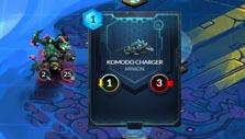 Playing a card in Duelyst
