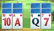 an easy start in Fairway Solitaire