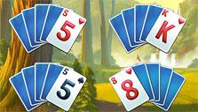 Fairway Solitaire: clearing the layout