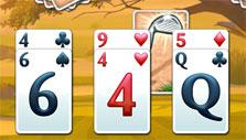 find the golf club in Fairway Solitaire