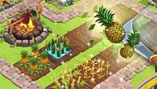 Paradise Bay: Harvesting crops