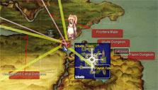 World map in Ragnarok Online