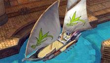 Customize your ship in Florensia