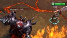 Shadow Master boss fight in Demon Blood