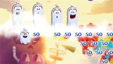 Bubble Witch 3 Saga: happy ghosts