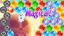 leading the ghost upwards in Bubble Witch 3 Saga