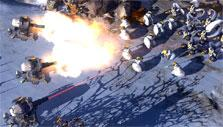Defensive turrets in Art of War: Red Tides
