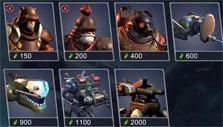 Art of War: Red Tides: Battle preparation