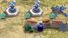 Building defenses in Path of War